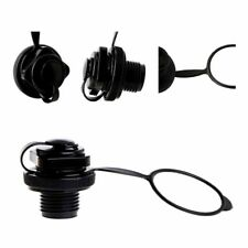 2 in 1 Black Perfeclan Air Valve Caps Screw Valve For Inflatable Boat Air Dinghy