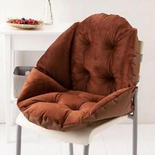 Seashell Shape Design Seat Cushion All-Round Soft Chair Pad Pillow-Coffee