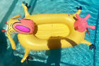 VINTAGE Cow And Chicken Cartoon Network Inflatable Pool RARE 1997