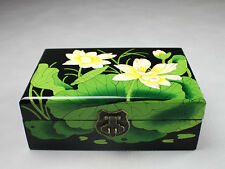 "Schmuckkästchen Holz ""Lotus"", Schmuckkasten, Schmuckbox, Schmuckschatulle China"