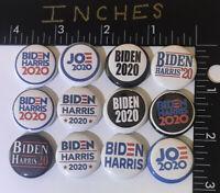 2020 Biden Joe Harris President Campaign Pin Lot Pins One Inch 12 Button 20 Vote