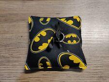 Batman Wedding Ring Pillow - Ring Cushion- Ring Bearer Pillow - Science