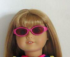 Pink Plastic Sunglasses & Case Fits 18 inch American Girl Dolls