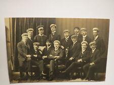 München - 1910 - Gruppenbild Studentenverbindung - Schuhbeck --> Marr - Foto