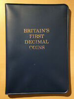 Britain's First Decimal Coin Set - 10 Pence to 1/2 Penny - 1971 - Mint Set