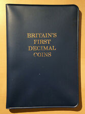Britain's First Decimal Coins Set - 10 Pence to 1/2 Penny - 1971 - Mint Set