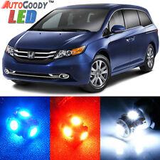 17 x Premium Xenon White LED Lights Interior Package Kit for Honda Odyssey +Tool