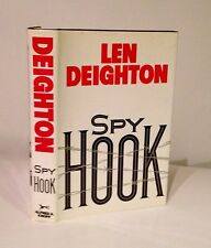 Spy Hook-Len Deighton-SIGNED!!!-TRUE First U.S. Edition/1st Printing-RARE!!-1988