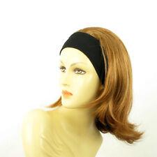 Stirnband Perücke frau mit lang dunkelblonden Kupfer xena g27