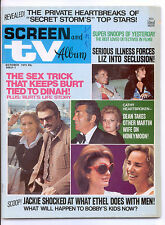 SCREEN & TV ALBUM  October 1973 (10/73) - Complete