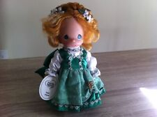 New Precious Moments Vinyl Doll Irish Girl