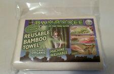 Bambooee Reusable Bamboo Towel Single Sheet Paper Towel alternate Eco Friendly