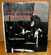 SIGNED Aaron Siskind Pleasures and Terrors Retrospective Monograph Photographs