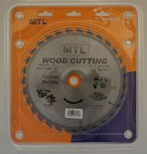 235mm dia. x 30T x 30mm bore MTL brand TCT Circular Saw Blade for Wood cutting