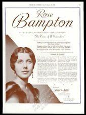 1936 Rose Bampton photo opera recital Usa tour trade booking ad