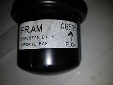 Fram Fuel Filter For Honda Prelude 91 90 89 88 1991 1990 1989 1988 G6535