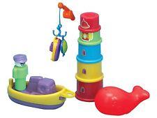 First Steps Fun Time Bath Time Play Set for Fun in Bath - Non Toxic Bath Toys!