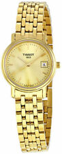Tissot Gold Plated Case Women's Adult Wristwatches