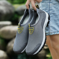 Men Water Shoes Beach Sneakers Breathable Mesh Sneakers Slip On Casual Outdoor