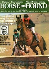Horse and Hound Magazine March 26th 1987