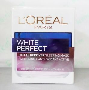 Night Vitamin L'Oreal Paris White Perfect Total Recover Sleeping Mask 50ml