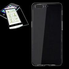 étui en silicone Transparent Etui + 0,3 H9 verre blindé pour OnePlus 5 coque