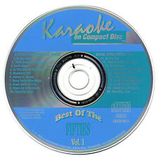 CHARTBUSTER KARAOKE - BEST OF THE FIFTIES VOL. 1 - RARE **NO GRAPHICS**