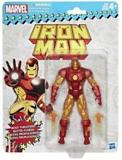 "Marvel Legends - IRON MAN - Retro Toy Biz HASBRO 6"" Action Figure MOC"
