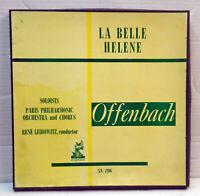 Offenbach - La Belle Helene - 2 LP Box set SX 206