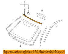 TOYOTA OEM 06-12 RAV4 Windshield-Molding Trim 5615342010