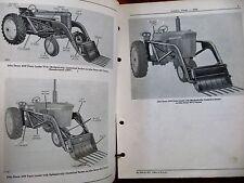 John Deere 45W Farm Loader Parts Catalog Manual ORIGINAL
