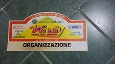 COPPA BANCO DI SARDEGNA.14^RALLY GOLFO ASI NASA 1992--ORGANIZZAZIONE