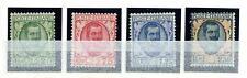 ITALIA - Regno - 1926 - Tipo floreale modificato - 25 e 75 c. - £. 1,25 e 2,50 -