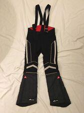 SCHNEIDER-HOSEN Australia VTG Mens Padded Flare Wool Ski Bib Pants Sz 46