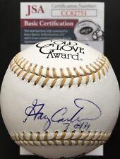 Gary Carter Autographed Gold Glove Baseball, JSA COA