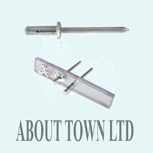 Aluminium Slotted Rivets suitable for Car Bumber Repairs