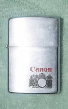 AB-113 Zippo Advertising Cigarette Lighter for Canon A-1 Camera 1978 Date Code