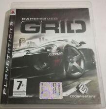 GRID RACEDRIVER GIOCO PS3 PLAYSTATION 3 ITALIANO BUONO SPED GRATIS SU + ACQUISTI
