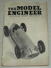 MODEL ENGINEER #2604 VOL 104, APRIL 19TH 1951 <