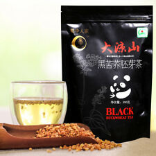 Premium Roasted Organic Natural Soba Black Tartary Buckwheat Grain Herbal Tea