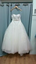 Alfred Angelo Strapless Ball Gown/Duchess Wedding Dresses