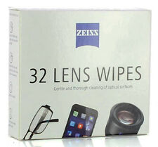 32 Zeiss Lens Wipes Moist Micro Fibre for Lenses, Eyepieces, Binoculars, Scopes