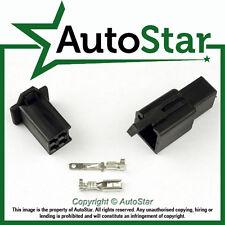 4 Way 2.8mm Mini Connector Kit BLACK Motorbike Honda Motorcycle Pin Connectors