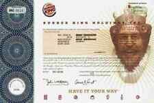 Burger King Whopper 2008 Miami Ducati Texas Goldman Sachs Darmstadt Nürnberg TOP