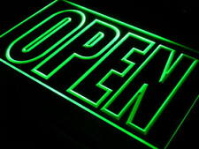 i097-g OPEN Shop Display Cafe Business Neon Light Sign