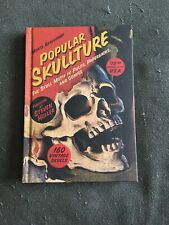Popular Skullture Hardcover Pop Art Pulp Paperbacks Comics RARE OOP 1st Print