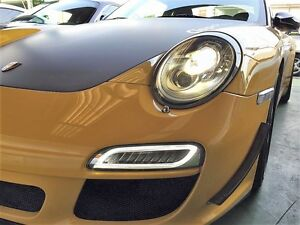 Porsche 911 997 2nd Gen  991 Turbo S style LED DRL Turn Signals CLEAR COLOR