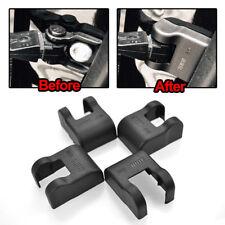 4pcs Door Stopper Protection For VW Scirocco Polo Golf Tiguan Jetta ABS Black