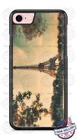 Vintage Eiffel Tower Paris France Landscape Phone Case for iPhone Samsung LG etc