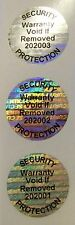 "1000 FR SVAG-SP 1"" Round Tamper Evident Labels Stickers Security Seals"